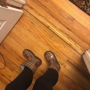 Burberry Shoes - BURBERRY CALF RAINBOOTS